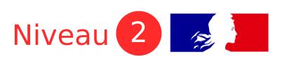 Espèce de niveau 2 dans la réglementation française